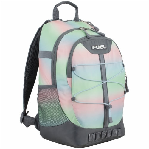 Fuel Pastel Ombre Terra Sport Bungee Backpack Perspective: front