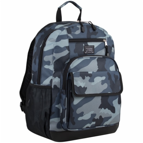 Eastsport Future Tech Backpack - Midnight Camo Perspective: front