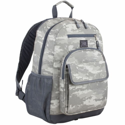 Eastport Static Camo Future Tech Backpack Perspective: front