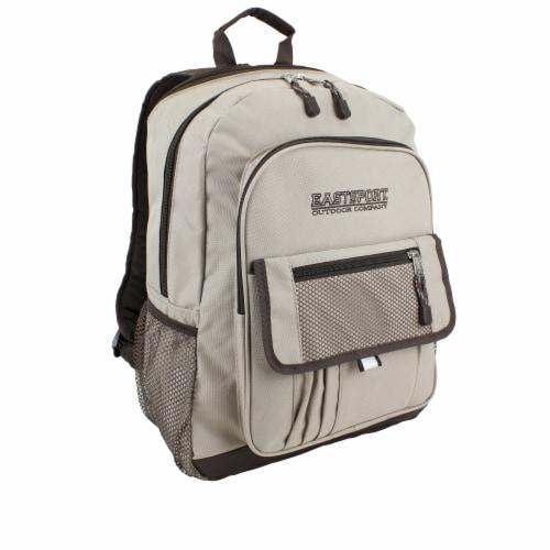 Eastsport Basic Tech Backpack - Moonrock Perspective: front