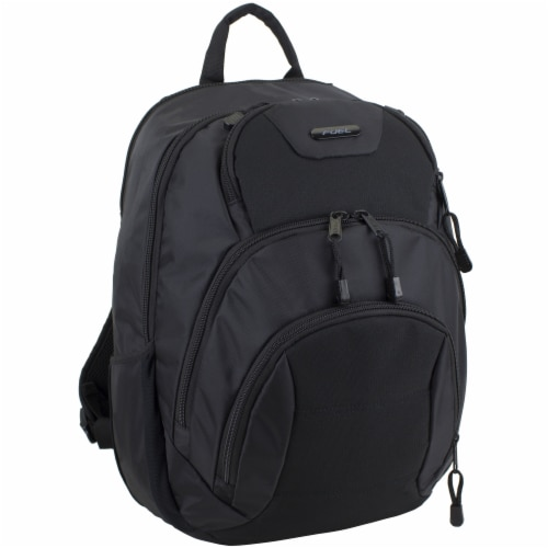 Fuel Droid Heavy Duty Tech Backpack - Black Perspective: front
