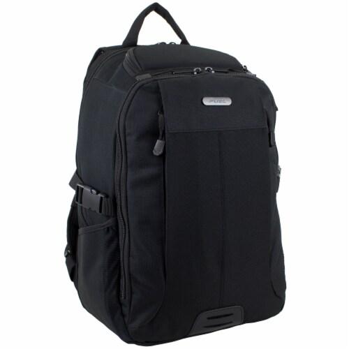 Fuel Force Defender Tech Backpack - Black Perspective: front