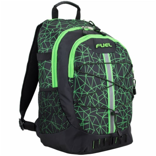 Fuel Shattered Geo Terra Sport Bungee Backpack Perspective: front