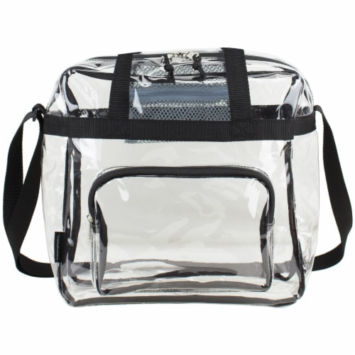 Eastsport NFL Approved Stadium Tote - Clear Perspective: front