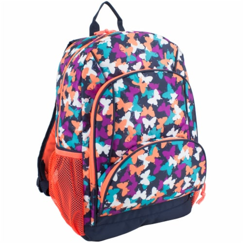 Fuel Triple Decker Backpack - Butterfly Solid Perspective: front