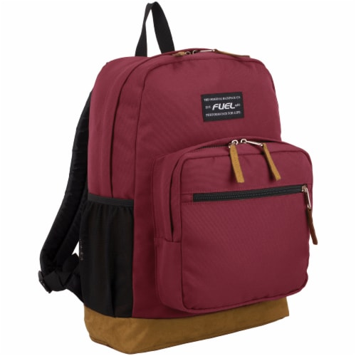 Fuel Superior Pro Backpack - Maroon Perspective: front