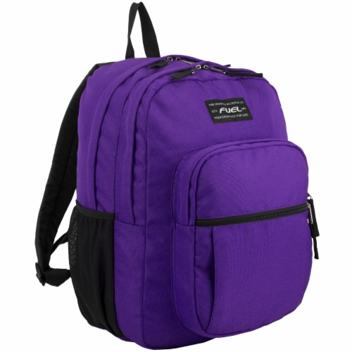 Fuel Deluxe Classic Large Backpack - Purple Perspective: front