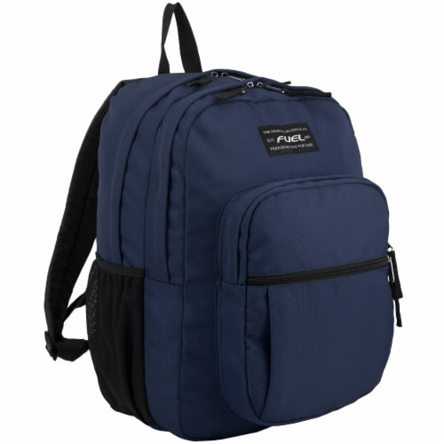 Fuel Deluxe Classic Large Backpack - Navy Perspective: front