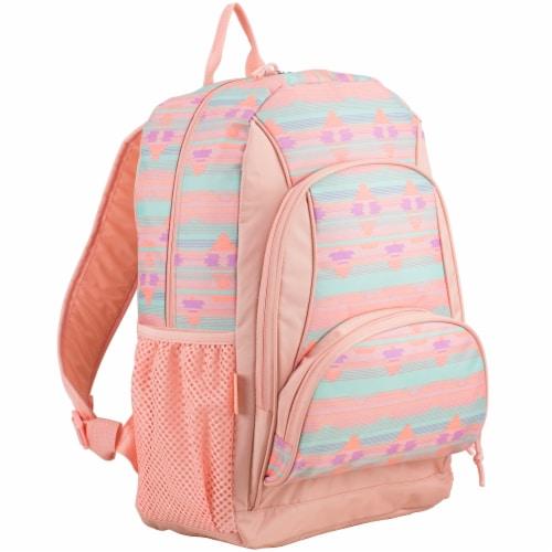 Fuel Rainbow Aztec Triple Decker Backpack Perspective: front