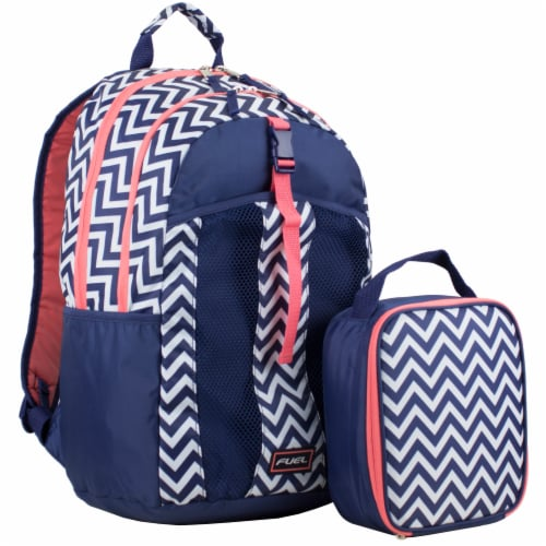 Fuel Deluxe Backpack/Lunch Bag Combo Perspective: front
