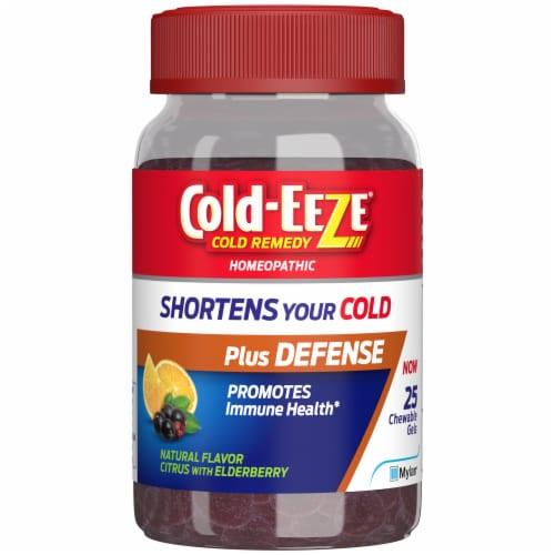 Cold-EEZE Plus Defense Chewable Gel Perspective: front