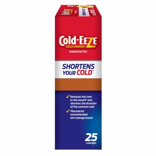 Cold-EEZE Plus Defense Natural Manuka Honey Lemon Flavor Cold Remedy Lozenges Perspective: front