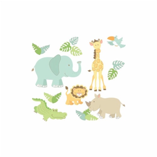 Brewster Home Fashions DWPK1152 Safari Buddies Large Wall Art Kit - 34.5 in. Perspective: front
