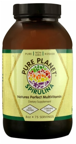 Pure Planet  Spirulina Powder Perspective: front