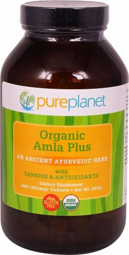 Pure Planet  Organic Amla Plus Perspective: front