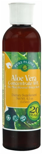 Pure Planet  Aloe Vera Concentrate 40X Perspective: front