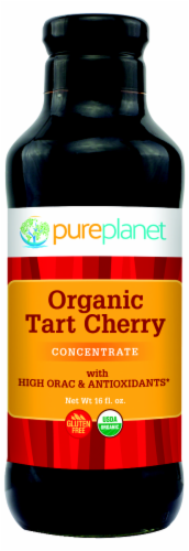 Pure Planet Organic Tart Cherry Concentrate Perspective: front