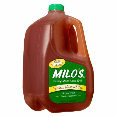 Milo's Famous Unsweet Tea Perspective: front