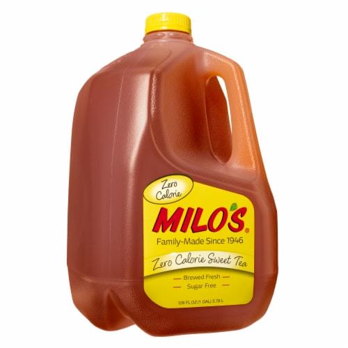 Milo's Zero Calorie Sweet Tea Perspective: front