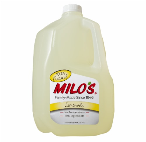 Milo's All Natural Lemonade Perspective: front