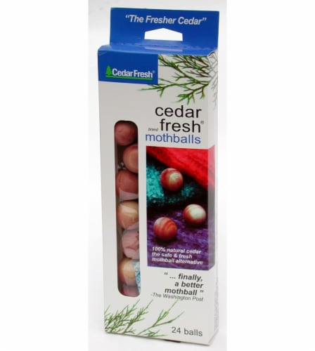 Cedar Fresh® Cedar Moth Balls Perspective: front