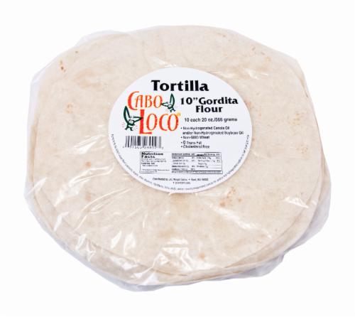 Cabo Loco Gordita Flour Tortillas Perspective: front