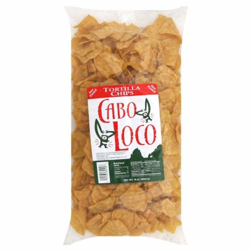 Cabo Loco Tortilla Chips Perspective: front