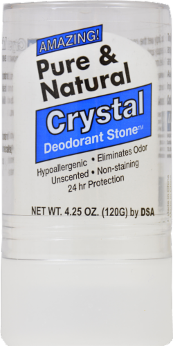 Pure & Natural Crystal Deodorant Stone Perspective: front