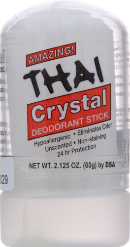 Thai Crystal Deodorant Stick Perspective: front