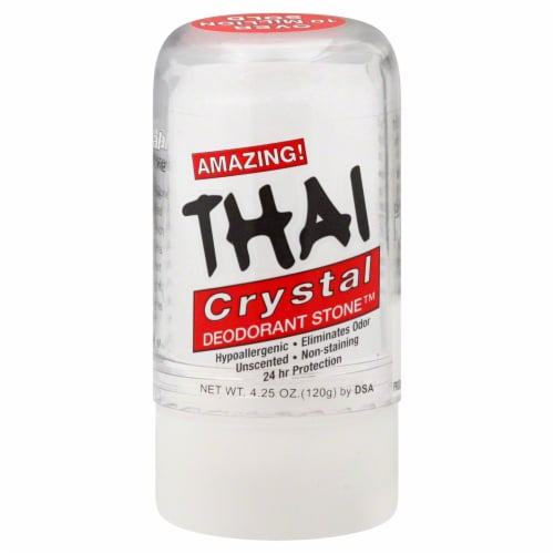 Thai Crystal Deodorant Stone Perspective: front