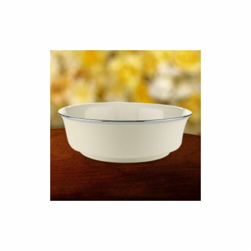 Lenox 140204400 Solitaire Serving Bowl Perspective: front