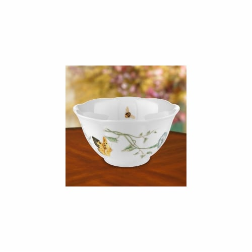 Lenox 6083448 Butterfly Meadow Rice Bowl Perspective: front