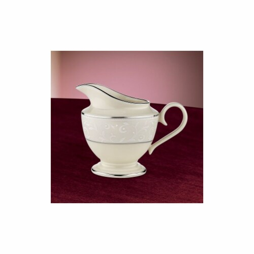 Lenox Pearl Innocence Creamer Perspective: front