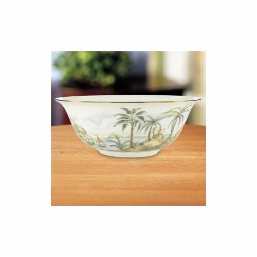 Lenox 6226948 British Colonial Serving Bowl Perspective: front