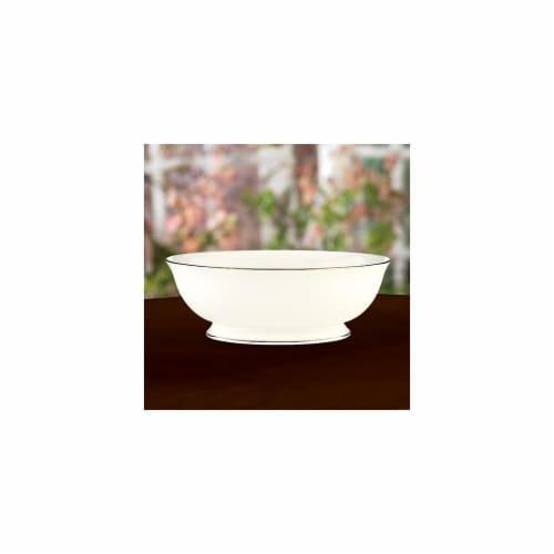 Lenox 6229462 Tribeca Open Vegetable Bowl Perspective: front