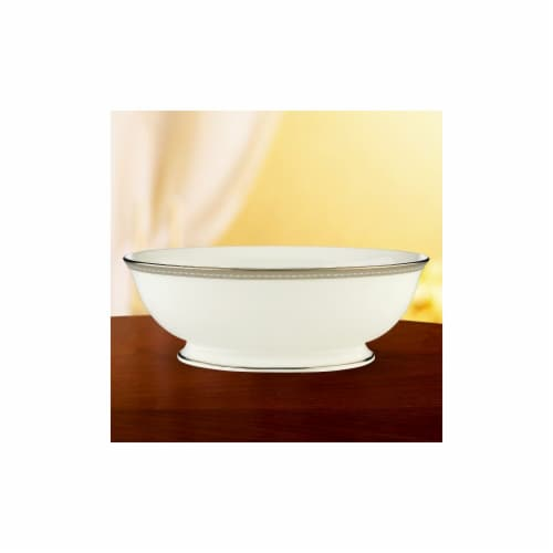 Lenox 6230189 Murray Hill Open Vegetable Bowl Perspective: front