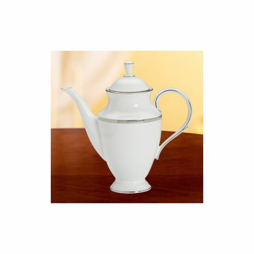 Lenox 6230205 Murray Hill Coffeepot With Lid Perspective: front