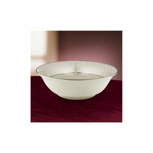 Lenox 6252373 Pearl Innocence Serving Bowl Perspective: front
