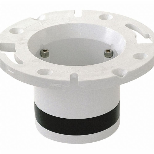 Sim Supply Toilet Flange,Universal Fit  40096 Perspective: front