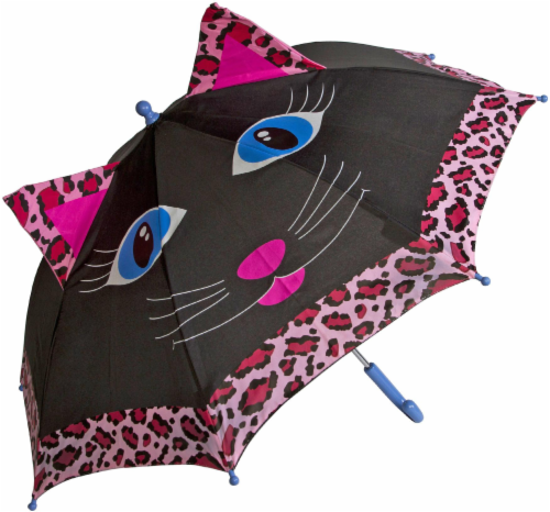 ShedRain Kids' Animal Character Stick Umbrella Perspective: front