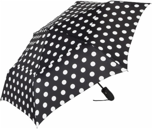 ShedRain Windjammer® Vented Auto-Open and Auto-Close Compact Umbrella - Susie Perspective: front