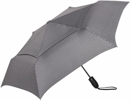ShedRain Windjammer® Automatic Vented Compact Umbrella - Metrohound Perspective: front
