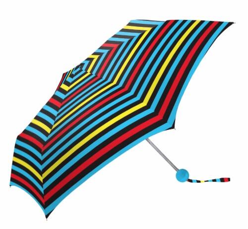 ShedRain RainEssentials® Manual Clip Compact Umbrella - Olivia Perspective: front