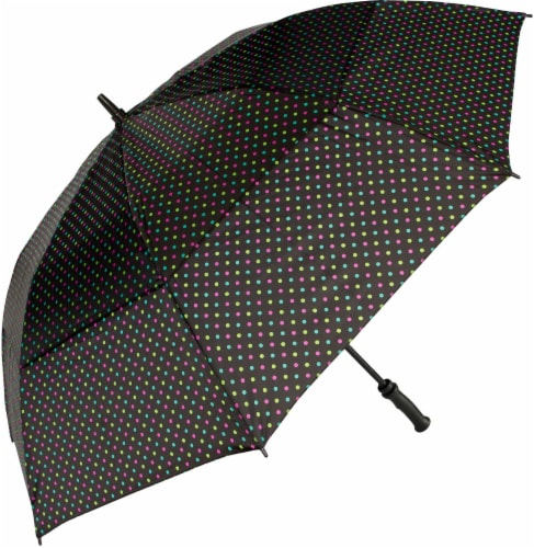 ShedRain Windjammer® Vented Golf Umbrella - Funfetti Perspective: front