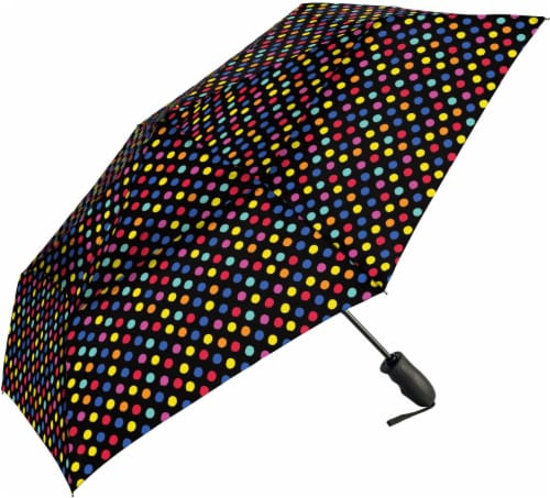 ShedRain Windjammer® Automatic Vented Compact Umbrella - Zot Perspective: front