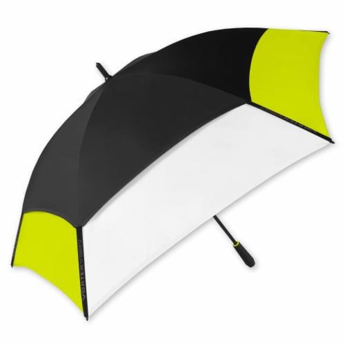 Vortex Vented Manual Golf Umbrella - Lime Perspective: front