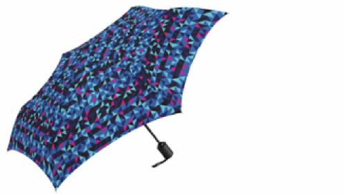 ShedRain Static Print Compact Umbrella Perspective: front