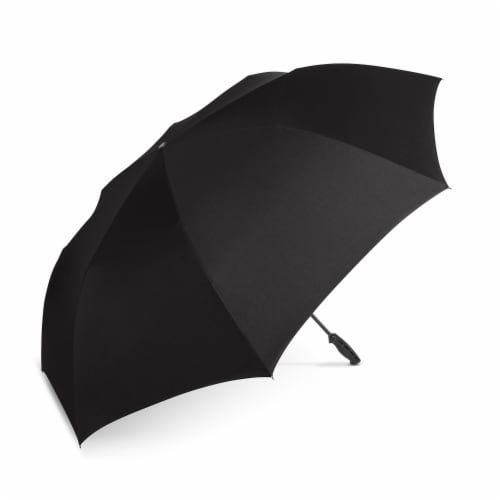ShedRain Reverse UnbelievaBrella Golf Umbrella - Black Perspective: front