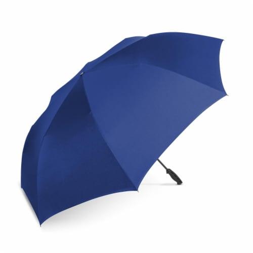 ShedRain Reverse UnbelievaBrella Golf Umbrella - Royal Perspective: front
