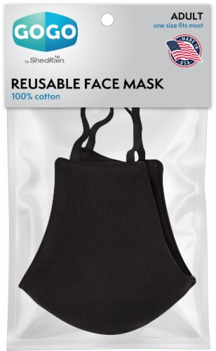 GoGo Reusable Face Mask Perspective: front